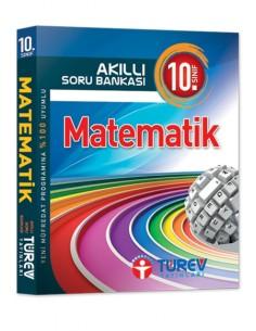 Türev Yayınları 10.Sınıf Akıllı Soru Bankası Matematik Kitabı