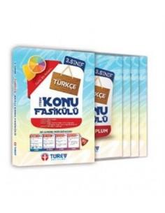 Türev Yayınları 3.Sınıf Türkçe Akıllı Konu Fasikülü