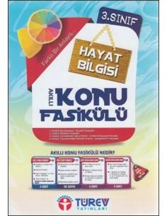 Türev Yayınları 3.Sınıf Hayat Bilgisi Akıllı Konu Fasikülü