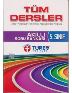 Türev Yayınları 5.Sınıf Akıllı Soru Bankası