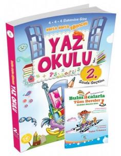 5 Renk Yayınları İlkokul 1.Sınıf Yaz Okulu Tatil Kitabı (2.Sınıfa Geçtim) Kampanyalı