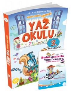 5 Renk Yayınları İlkokul 2.Sınıf Yaz Okulu Tatil Kitabı (3.Sınıfa Geçtim) Kampanyalı