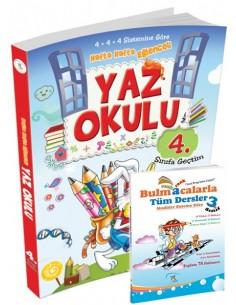 5 Renk Yayınları İlkokul 3.Sınıf Yaz Okulu Tatil Kitabı (4.Sınıfa Geçtim) Kampanyalı