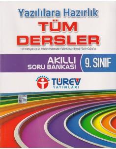 Türev Yayınları 9.Sınıf Yazılılara Hazırlık Tüm Dersler Akıllı Soru Bankası