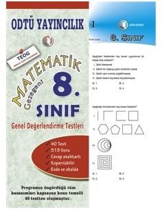 ODTÜ Yayınları Ortaokul 8.Sınıf Matematik Gezegeninde Değerlendirme Testi