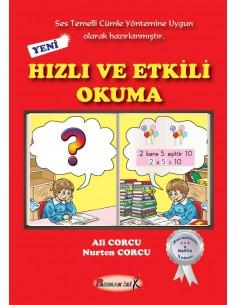 Parmak Izi Yayınları 1.Sınıf Hızlı ve Etkili Okuma Kitabı