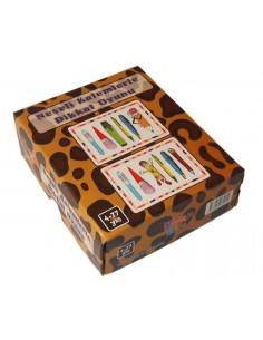 Yuka Kids Yayınları (4-77 Yaş) Neşeli Kalemlerle Dikkat Oyunu