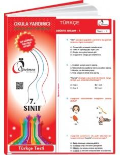Öğretmen Yayınları 7.Sınıf Türkçe Yaprak Test