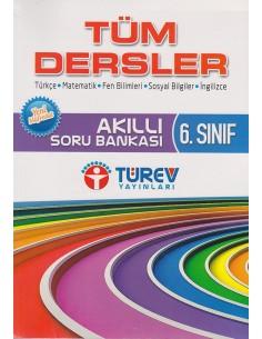 Türev Yayınları 6.Sınıf Tüm Dersler Akıllı Soru Bankası
