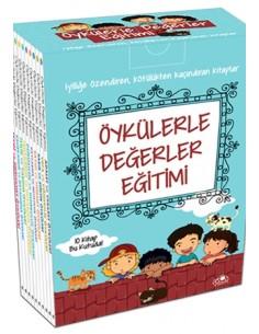 Uğurböceği Yayınları 3.Sınıf Öykülerle Değerler Eğitimi Hikaye Seti