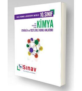 Sınav Yayınları Lise 10.Sınıf Kimya Konu Anlatım