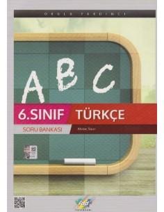 FDD Yayınları Ortaokul 6.Sınıf Türkçe Soru Bankası