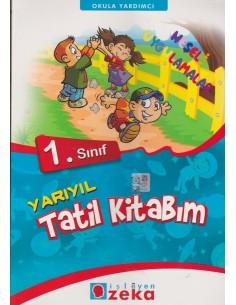 İsleyen Zeka Yayınları İlkokul 1.Sınıf Yarıyıl Tatil Kitabım