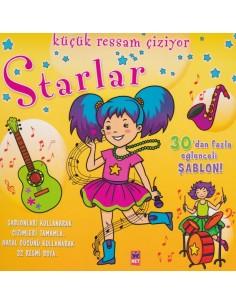 Net Çocuk Küçük Ressam Çiziyor Starlar