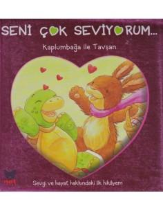 Net Çocuk Seni Çok Seviyorum Kaplumbağa ile Tavşan