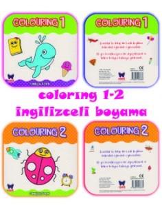 Net Çocuk Colourıng 2 İngilizce Boyama