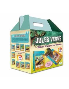 Mavi Göl Yayınları Jules Verne 10 Kitap Ciltli