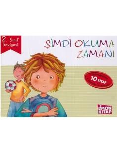 Limon Kitap İlkokul 2.Sınıflar İçin Şimdi Okuma Zamanı