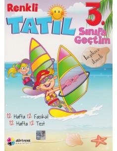 Dörtrenk Yayınları 2.Sınıf Renkli Yaz Tatil Kitabı 2016
