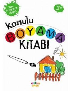 Erdem Yayınları Konulu Boyama Kitabı(+5 yaş)