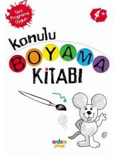 Erdem Yayınları Konulu Boyama Kitabı(+4 yaş)