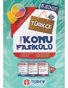 Türev Yayınları 6.Sınıf Türkçe Akıllı Konu Fasikülü