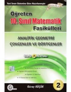 Gür Yayınları Öğreten Matematik 10.Sınıf Analitik Geometri