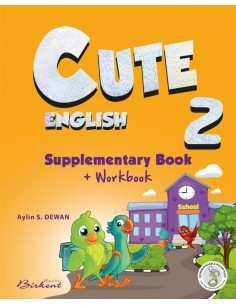 Birkent Yayınları Cute English 2 Supplementary Book+Workbook