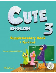 Birkent Yayınları Cute 3 Supplementary Book + Workbook