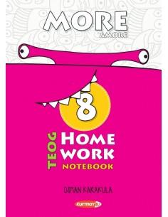 Kurmay Yayınları 8.Sınıf More&More Home Work Notebook