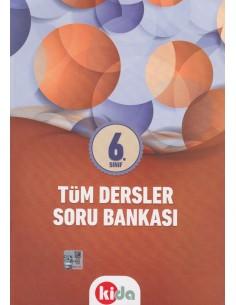 Kida Eğitim Yayınları 6.Sınıf Tüm Dersler Soru Bankası