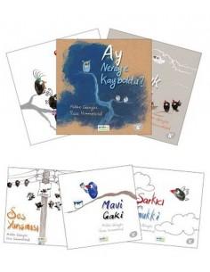 Erdem Yayınları 1.Sınıf Gakgukların Maceraları (6 Kitap)
