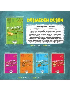 Genç Hayat Yayınları Düşmeden Düşün Hikaye Seti (3-4 Sınıf)