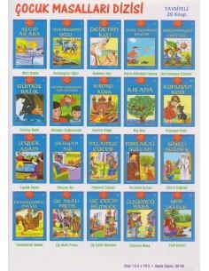 Özyürek Yayınları 1 ve 2.Sınıf Çocuk Masalları Dizisi (20 Kitap)