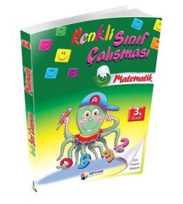 Dörtrenk Yayınları 3.Sınıf Matematik Renkli Sınıf Çalışması