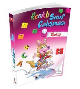 Dörtrenk Yayınları 3.Sınıf Türkçe Renkli Sınıf Çalışması