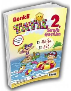Dörtrenk Yayınları 1.Sınıf Yaz Tatil Kitabı