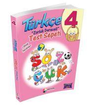 Dörtrenk Yayınları 4.Sınıf Türkçe Test Sepeti