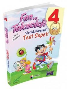 Dörtrenk Yayınları 4.Sınıf Fen ve Teknoloji Test Sepeti