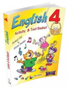 Dörtrenk 4.Sınıf English Activity and Test Basket