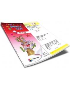 Dörtrenk Yayınları İlkokul 2.Sınıf Türkçe Renkli Yaprak Test