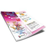 Dörtrenk Yayınları 3.Sınıf Türkçe Renkli Yaprak Test