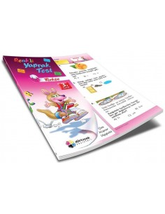 Dörtrenk Yayınları İlkokul 3.Sınıf Türkçe Renkli Yaprak Test