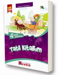 İşleyen Zeka Yayınları İlkokul 3.Sınıf Yaz Tatil Kitabı