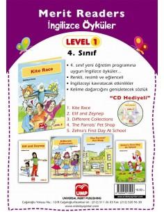 UMP Yayınları İlkokul 4.Sınıf Merit Readers İngilizce Hikaye Seti