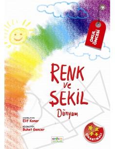 Erdem Yayınları Renk ve Şekil Dünyam (48-60 Ay)