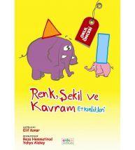 Erdem Yayınları Okul Öncesi Renk Şekil ve Kavram Etkinlikleri (60 Ay ve Üstü)