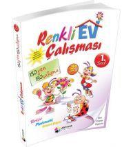 Dörtrenk Yayınları 1.Sınıf Tüm Dersler Renkli Ev Çalışması