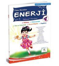 5 Renk Yayınları İlkokul 4.Sınıf Enerji Yaz Tatil Kitabı