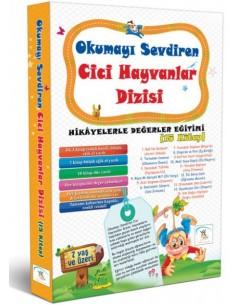 5 Renk Yayınları İlkokul 1.Sınıf Cici Hayvanlar Dizisi Hikaye Seti (15 Kitap)